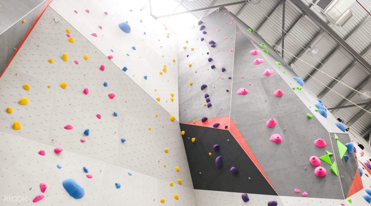 Wall for climbing in Beast Park, Kuala Lumpur