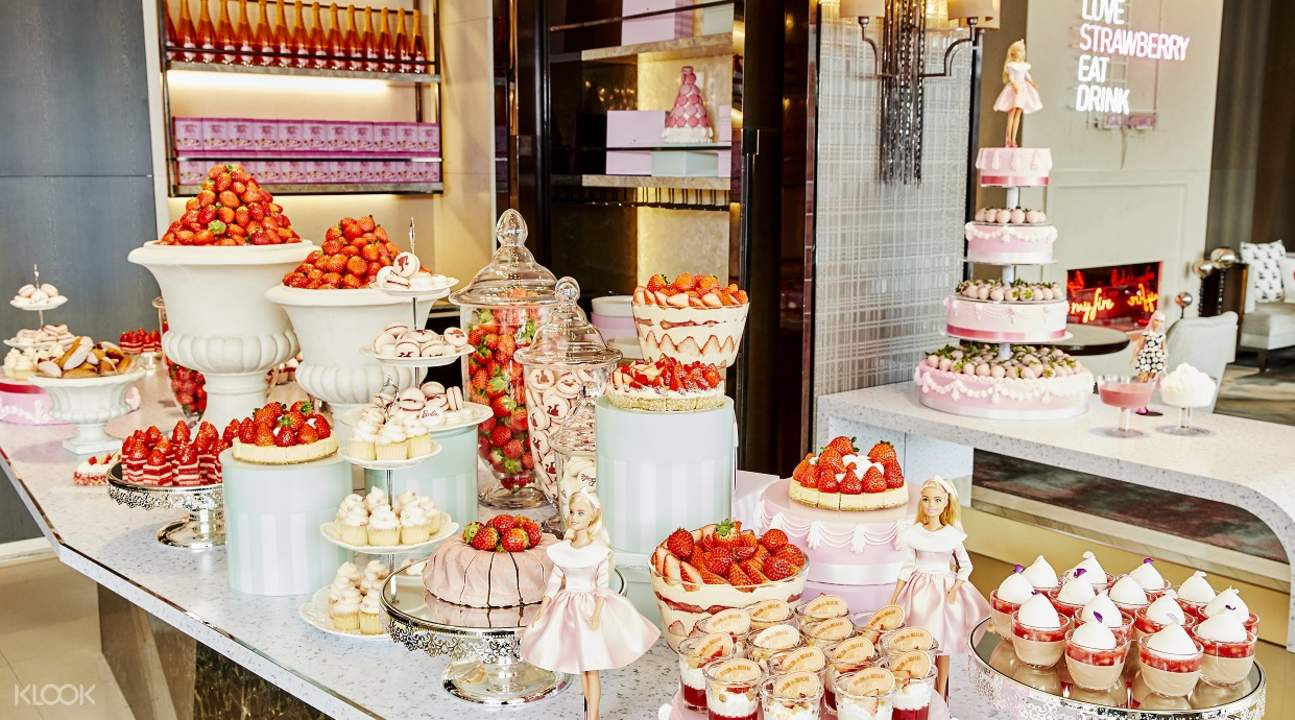 韓國草莓自助,首爾草莓自助,首爾自助餐,萬豪酒店自助餐,韓國春季限定