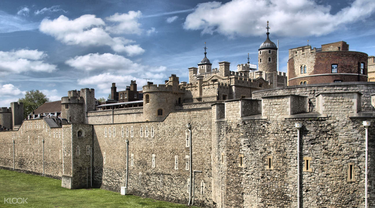 Tower of London walls