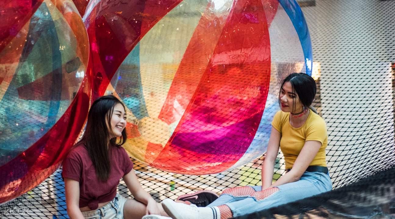 新加坡Airzone懸空遊樂場