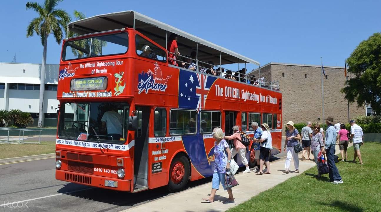 達爾文24小時隨上隨下觀光巴士