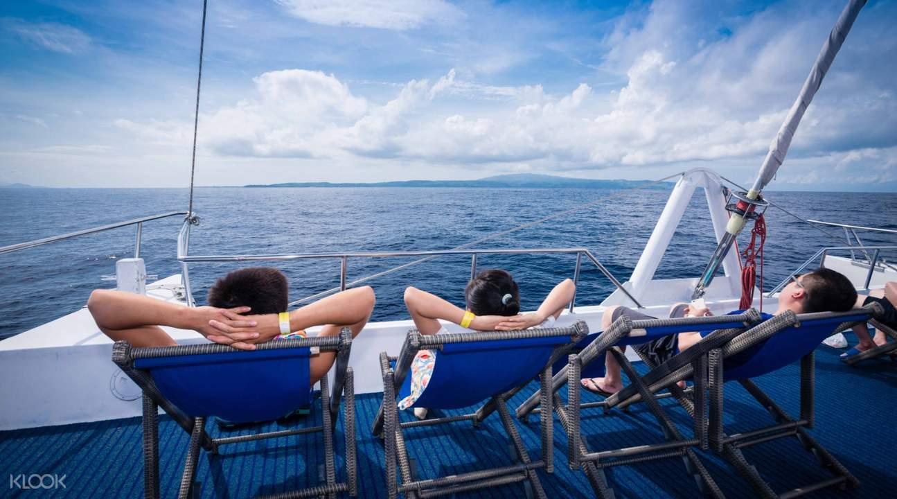 熱帶海面慢慢遊