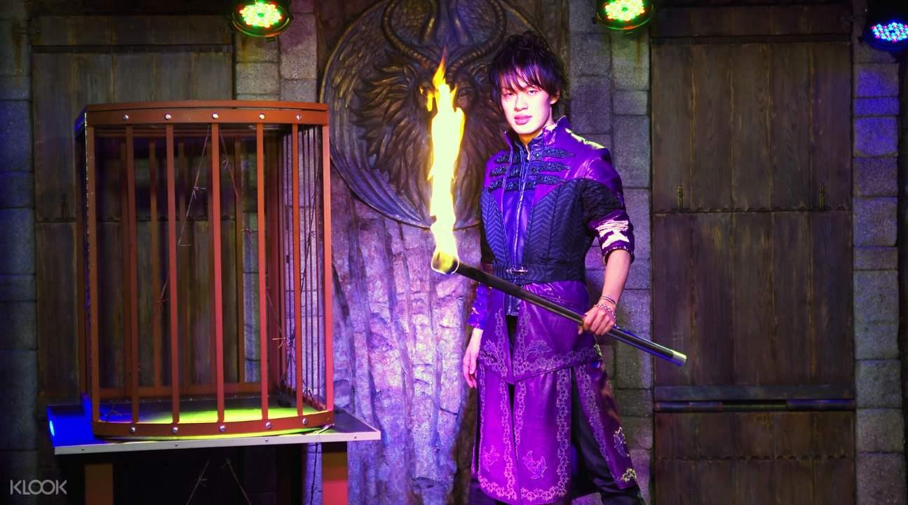 东京六本木魔法王国晚餐