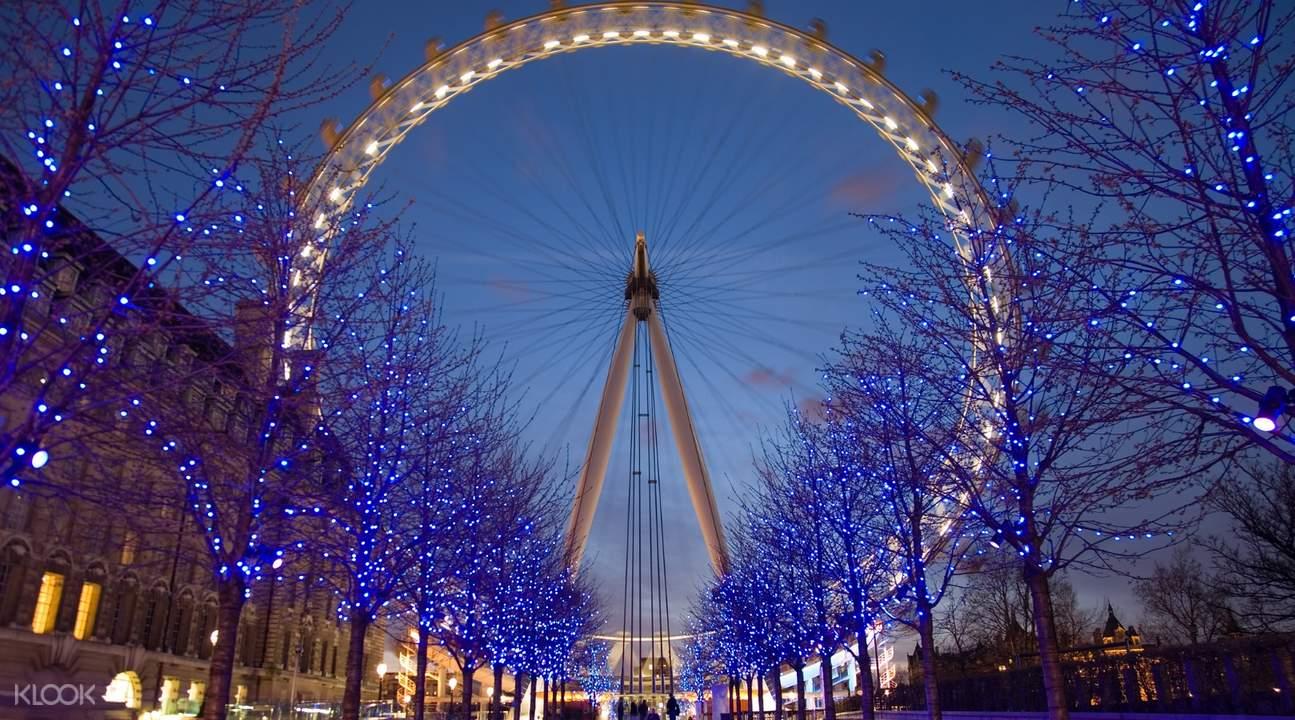 倫敦眼夜景