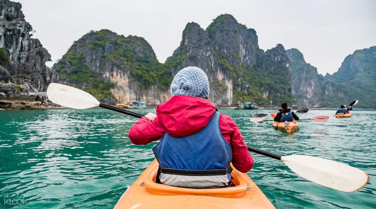 越南皮划艇体验
