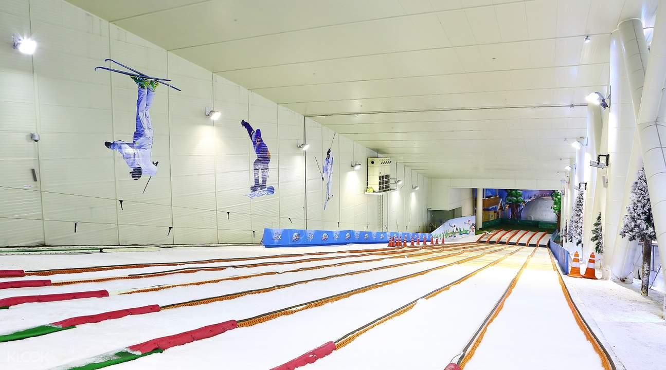熊津葡蕾乐园夏季滑道乐园