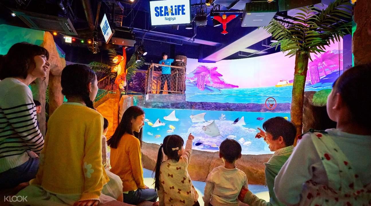 在樂高SEA LIFE水族館探索海底世界的秘密