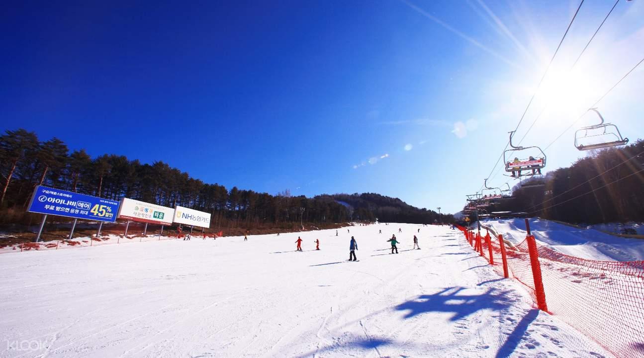 龍平滑雪場