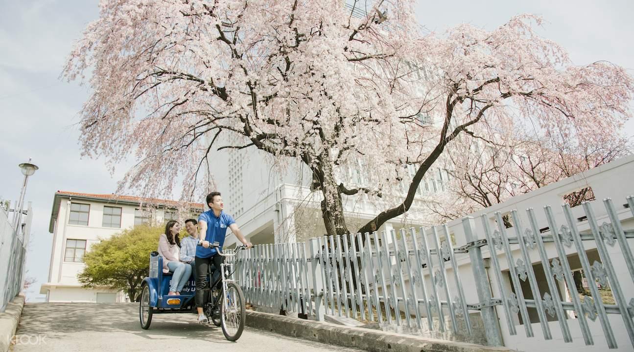 首尔人力观光车