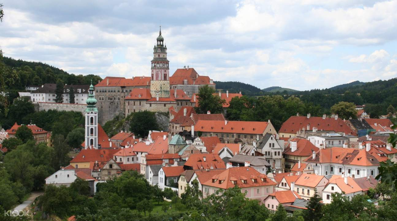 buildings and houses for Český Krumlov day tour from prague