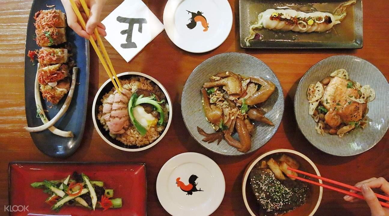 fusion food 65 peel soho hong kong