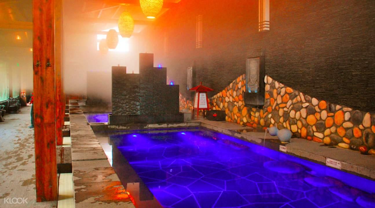 湯山紫清湖旅遊區森林溫泉