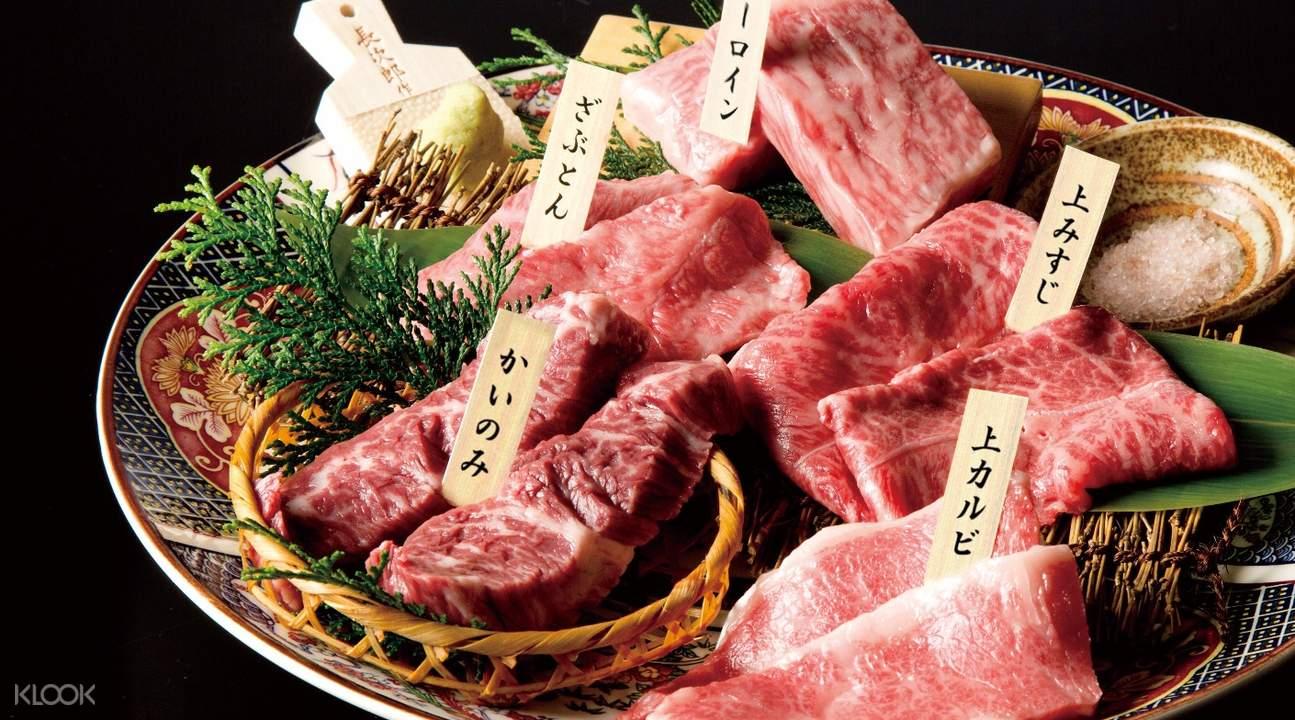 日本和牛烤肉- 銀座炎藏