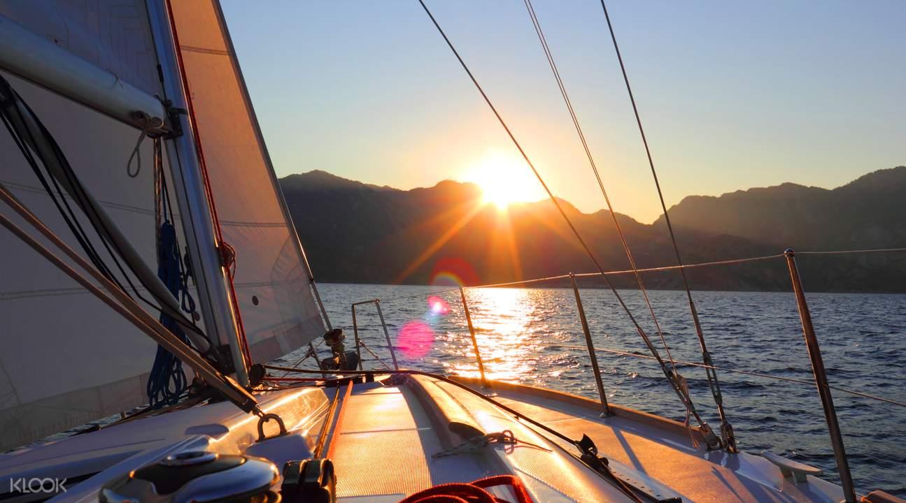 sailing in Taiwan