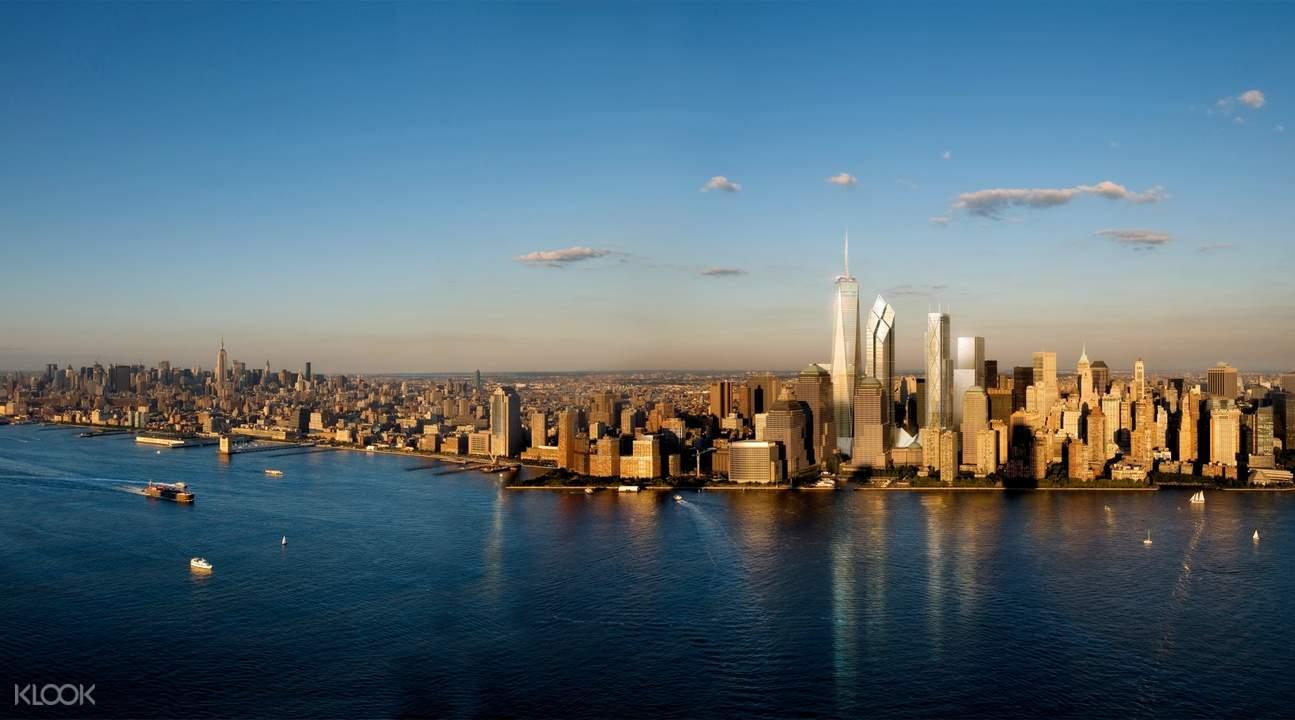 纽约霍恩布洛尔(Hornblower)观光游船体验