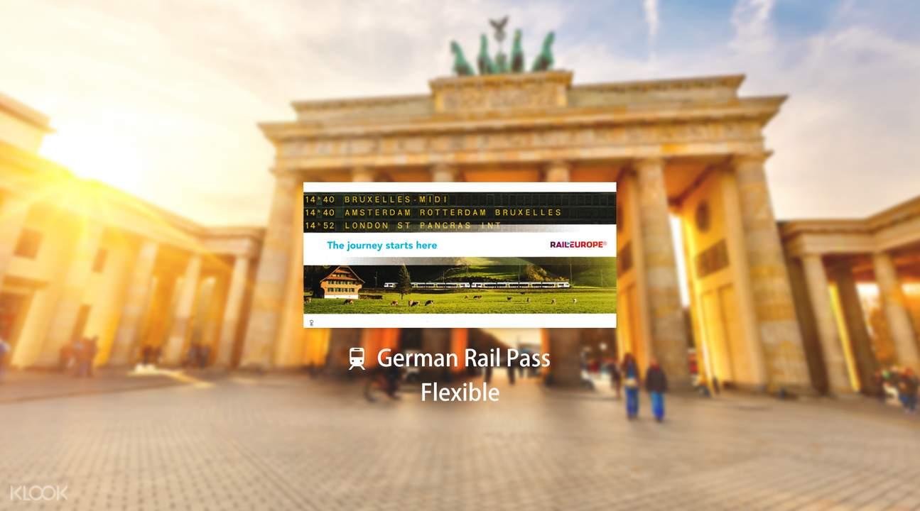 German Rail Pass (Flexible)