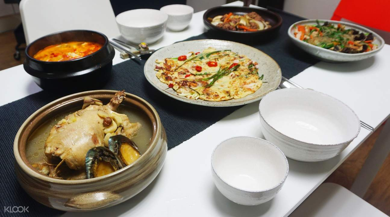 釜山札嘎其市场烹饪课