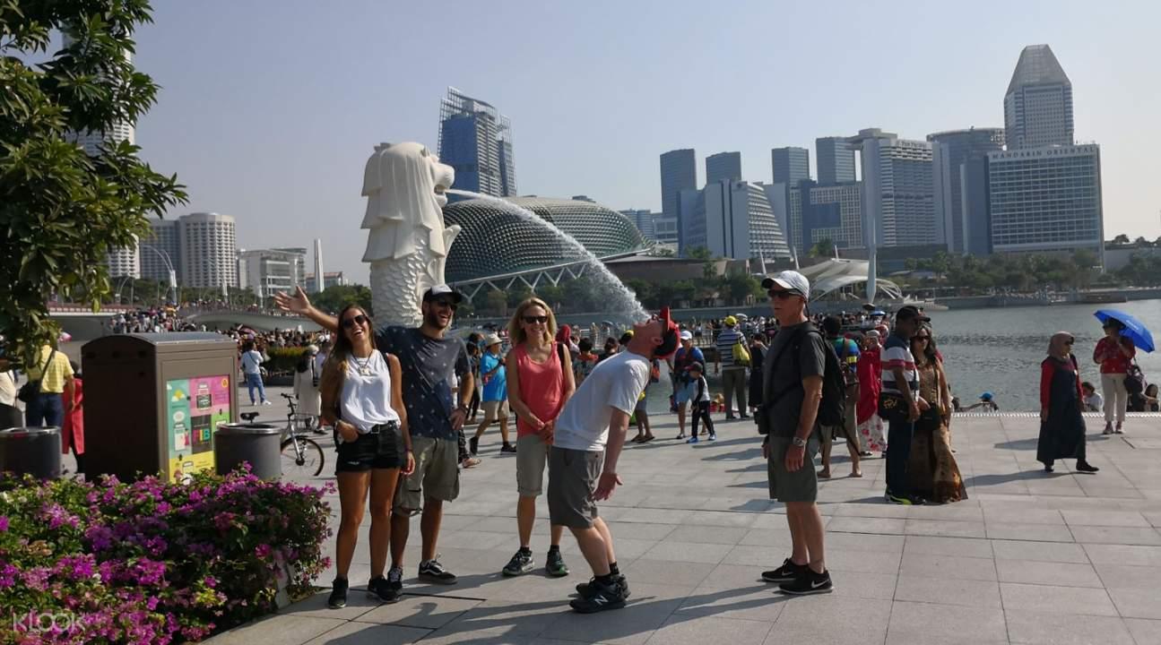 新加坡 鱼尾狮公园