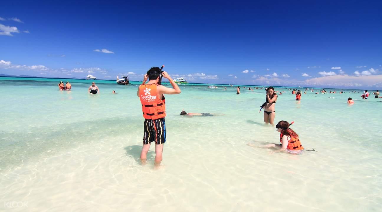 Phuket islands snorkel tour