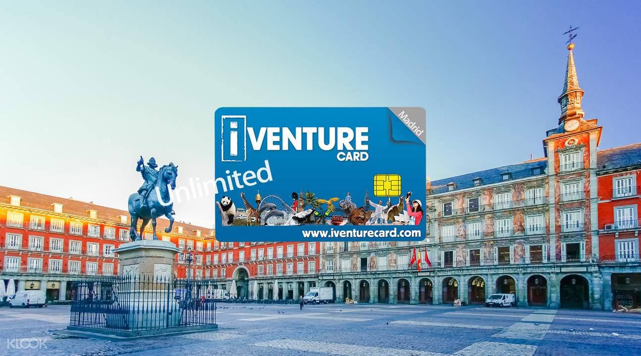 Madrid iventure flexi attactions