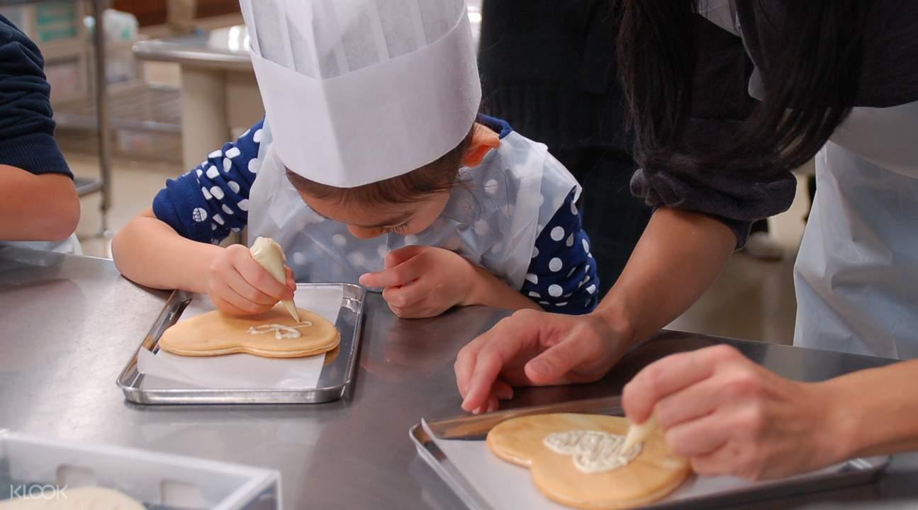 白色恋人巧克力饼干DIY