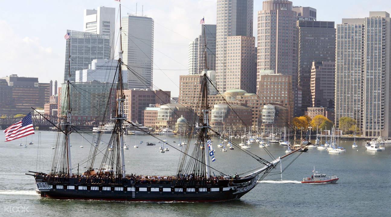 波士顿USS护卫舰巡航之旅