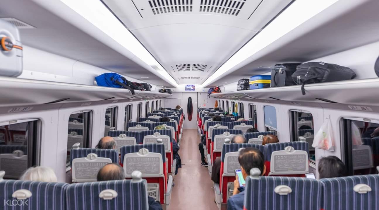 taiwan train interior