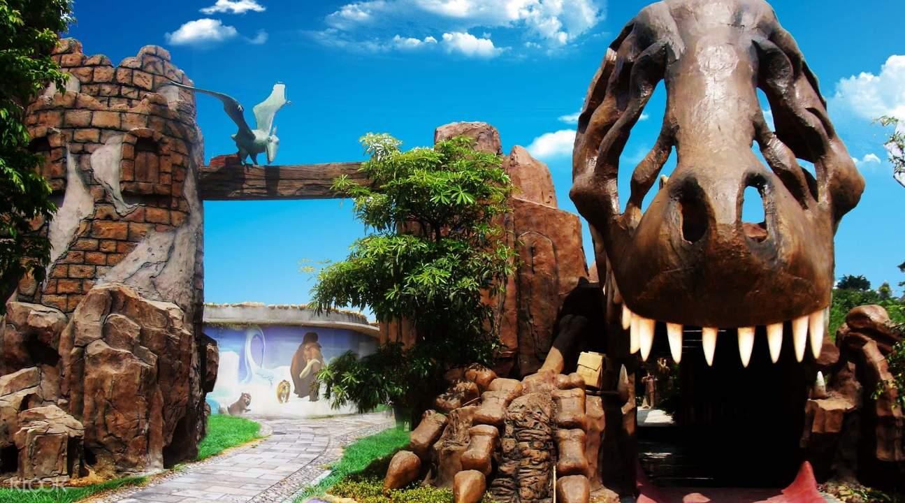 shampoola glacier valley dragon entrance