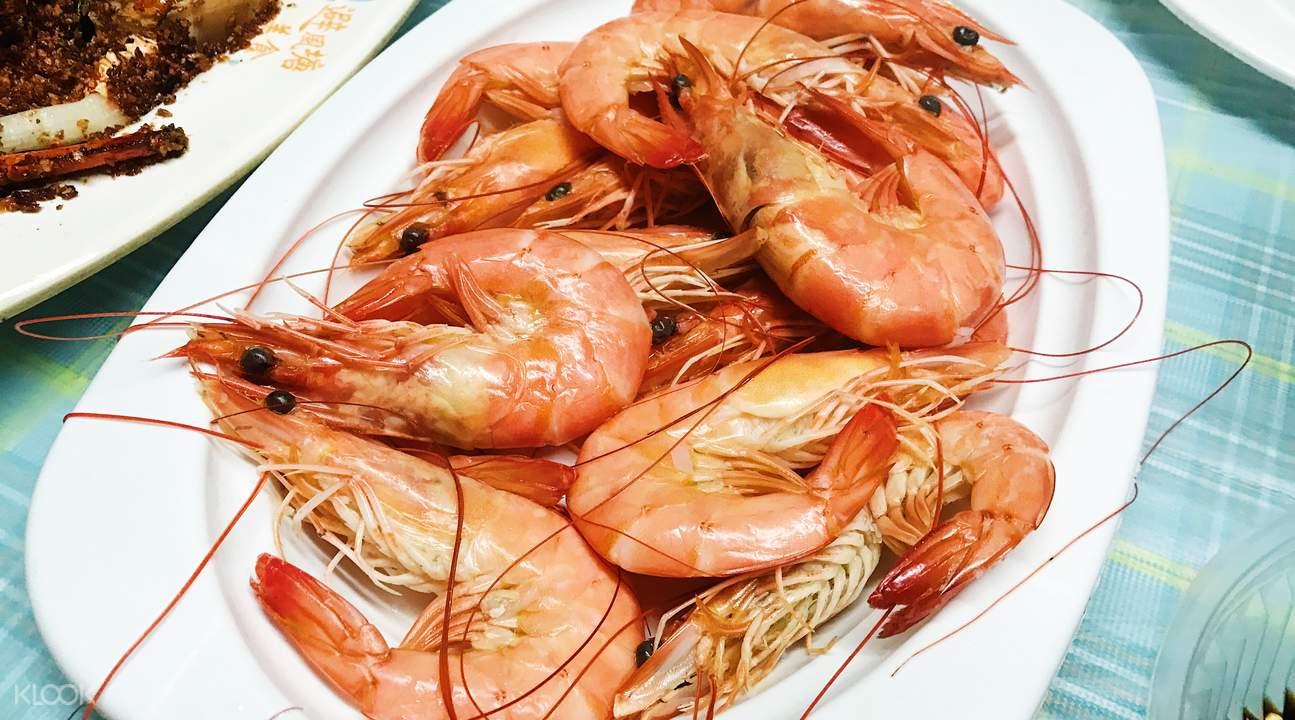 Fresh prawns hong kong