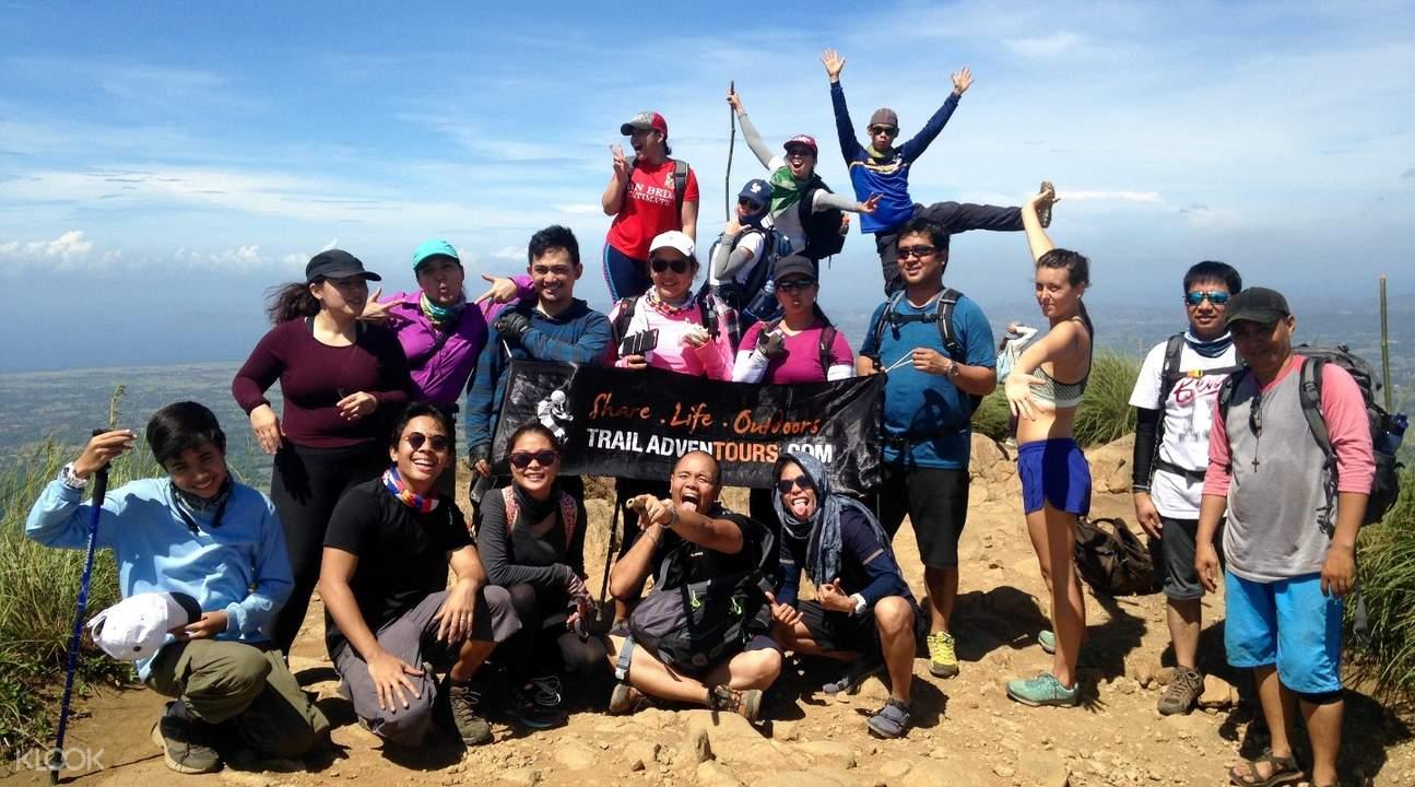 菲律宾马尼拉出发巴图劳山mount batulao徒步探险导览