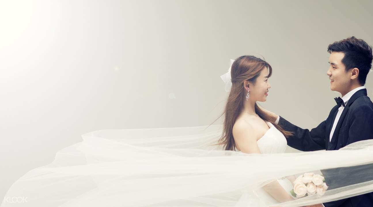 韩国吉安得婚纱摄影体验