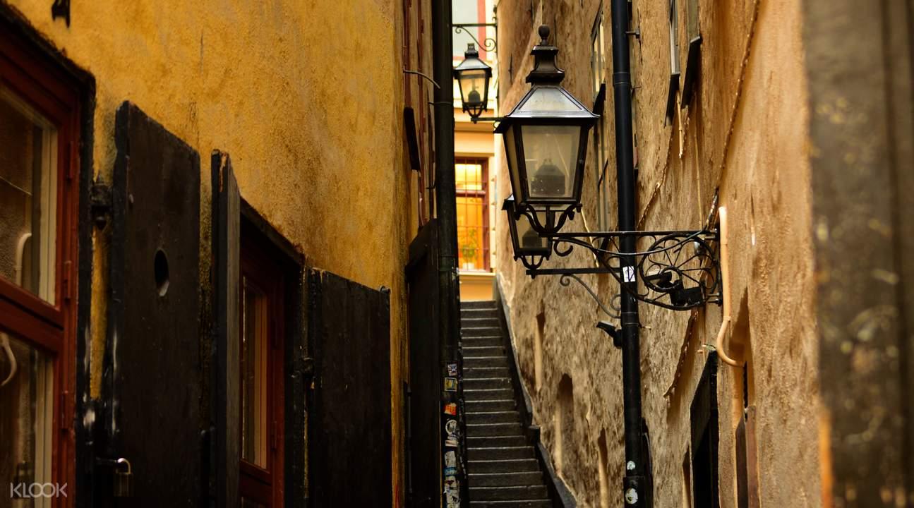 斯德哥尔摩老城街道