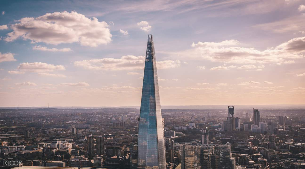 The View From The Shard Tickets Klook