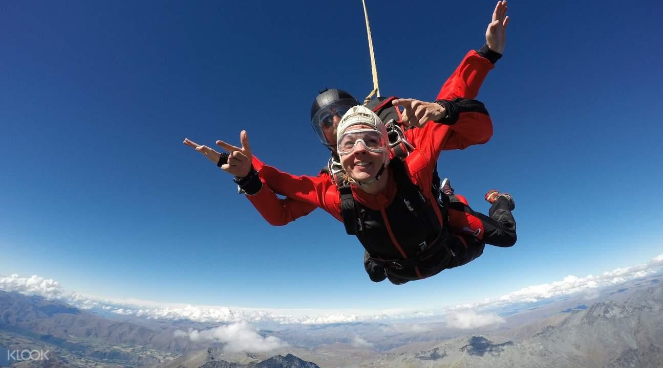 皇后鎮跳傘體驗
