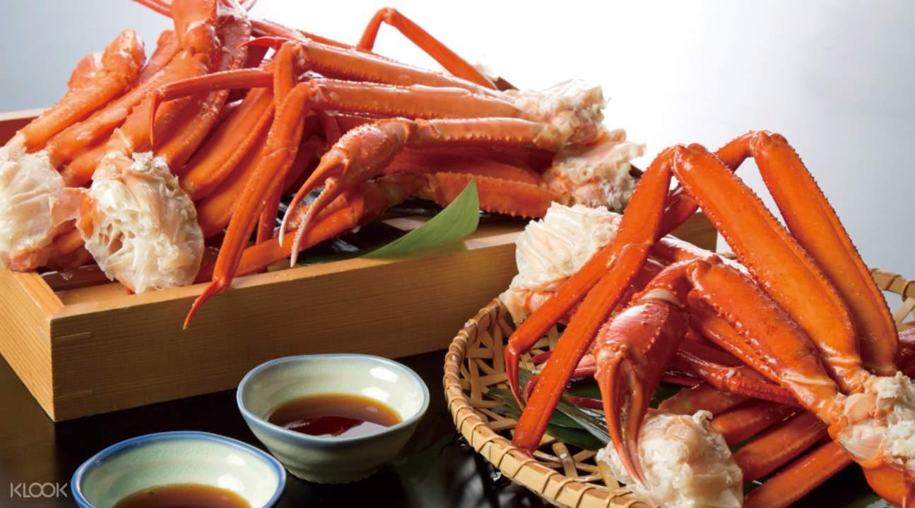 Crab Legs Shabu Sai in Asahikawa Hokkaido Japan