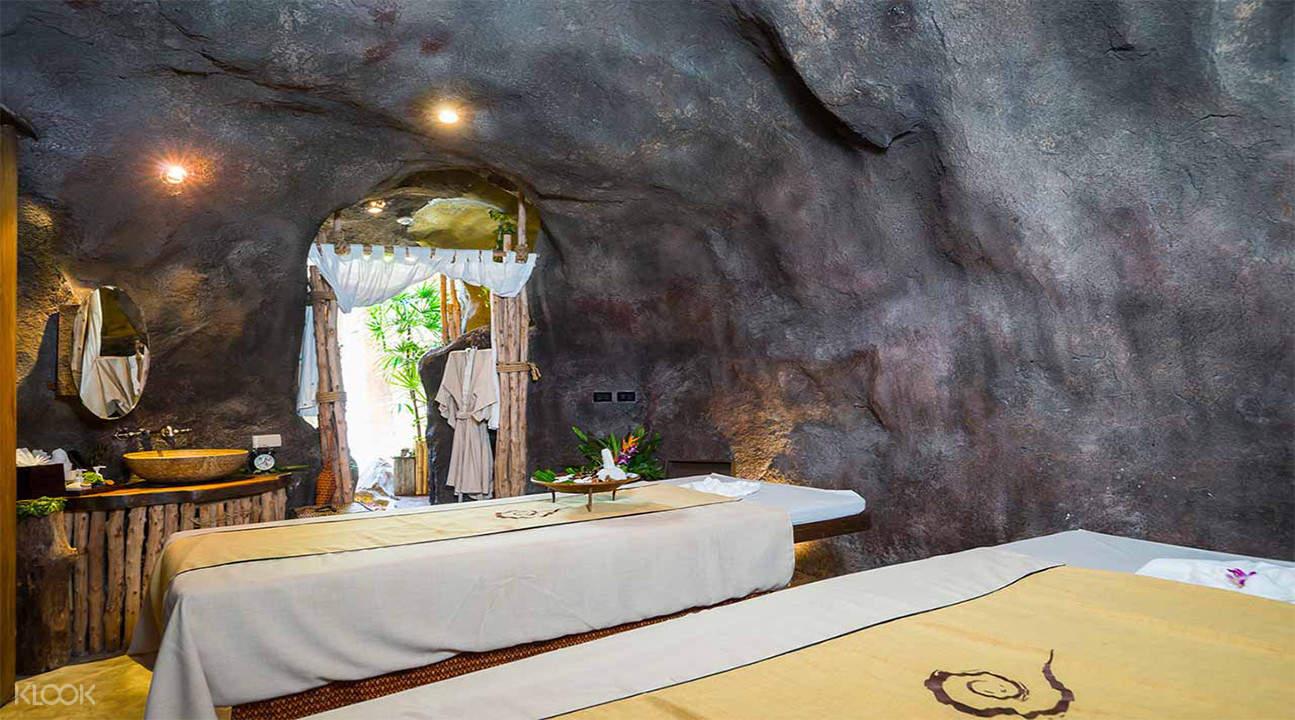 苏梅岛 Cave Rai Ra 溶洞Spa体验
