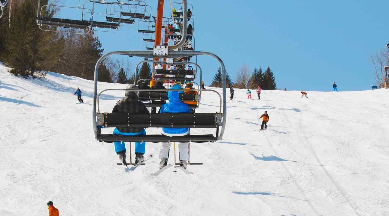 獵人山(Hunter Mountain)滑雪一日遊