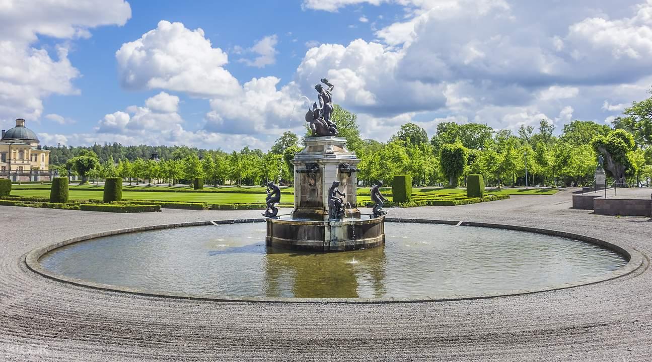 卓寧霍姆皇宮花園