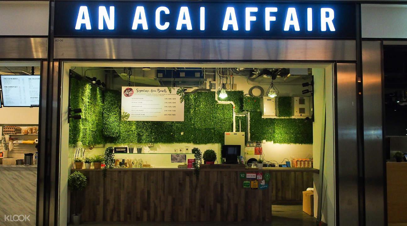an acai affair in bugis