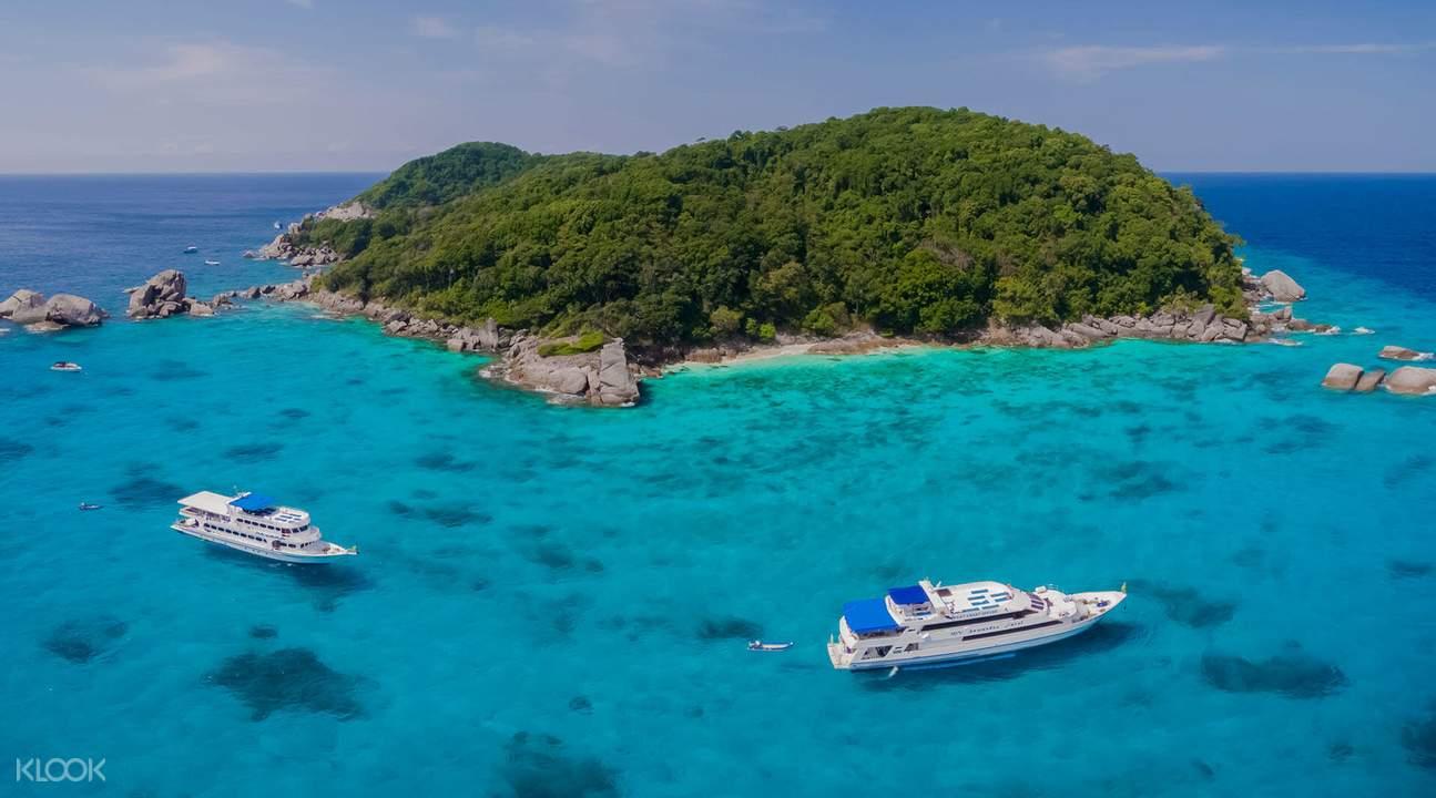 泰國斯米蘭群島,斯米蘭群島快艇一日遊,Similan群島