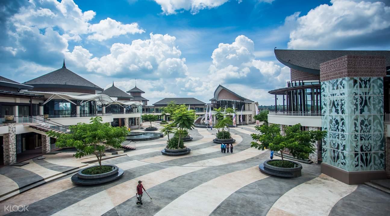 Lagoi Plaza shopping