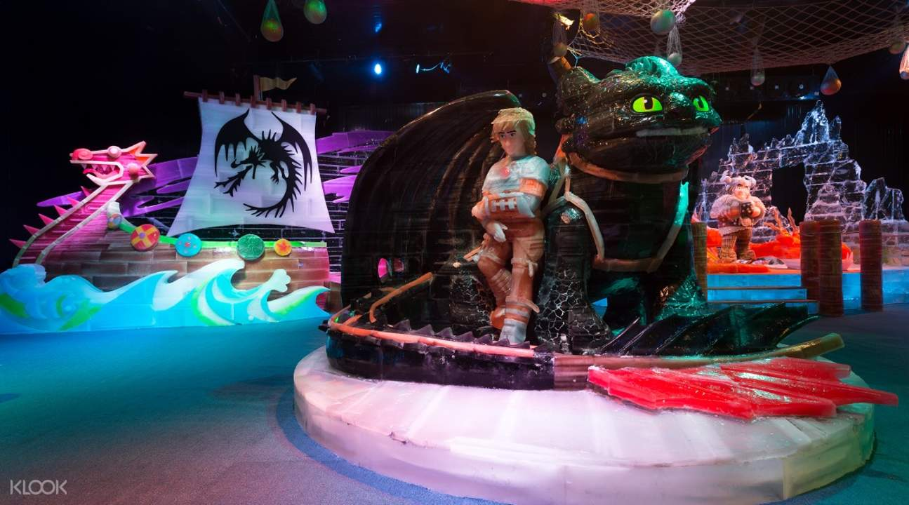 冰之歷奇冰雕展覽