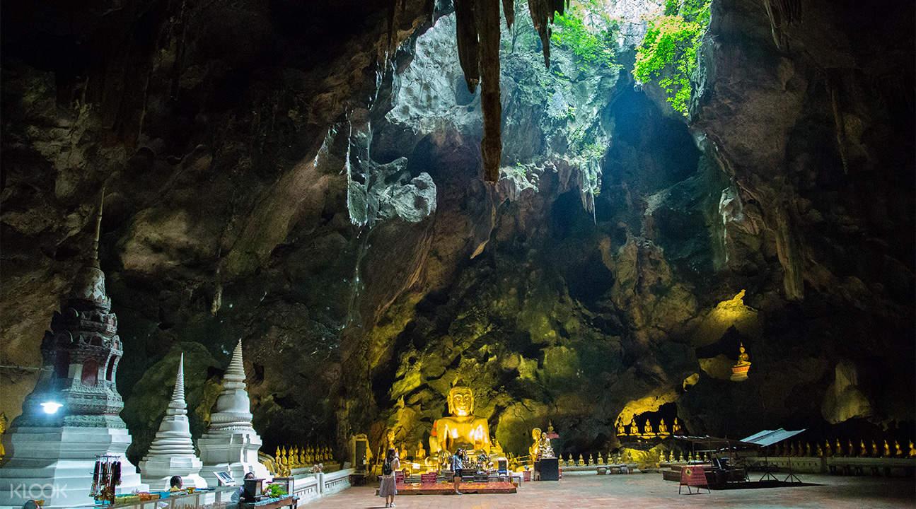 khao luang cave hua hin day tour from bangkok