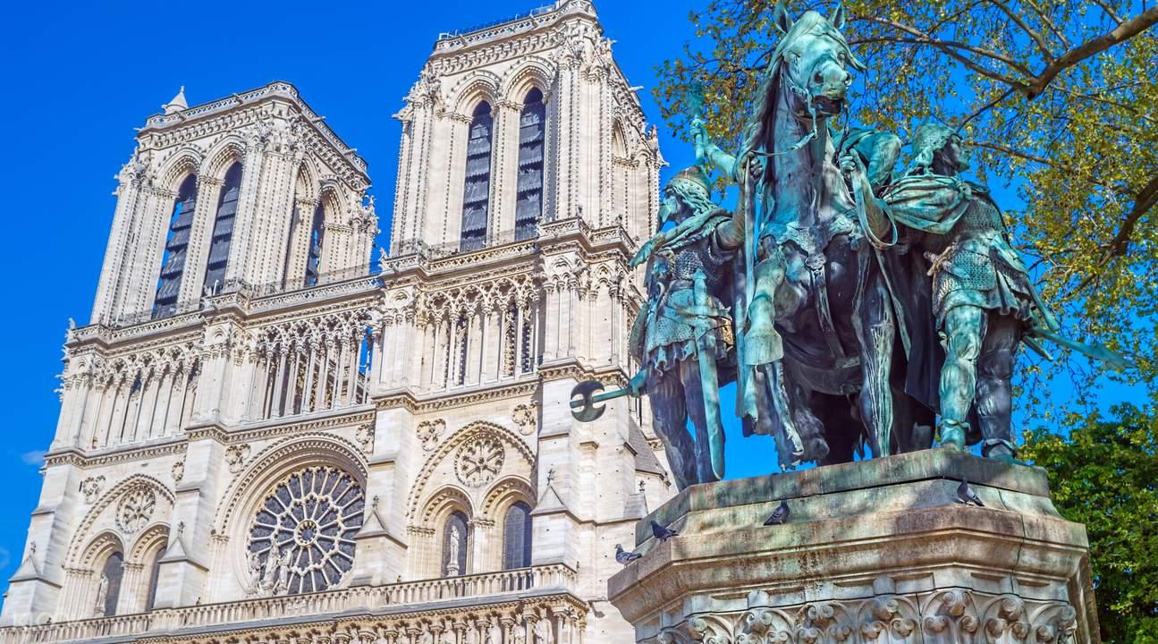 巴黎圣母院,巴黎圣禮拜堂,巴黎左岸半日遊
