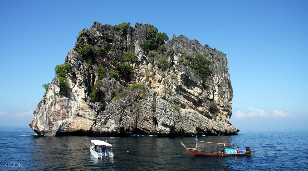 洛克島Koh Rok & 珊瑚島一日遊(普吉島出發)