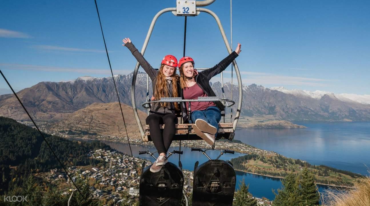 queenstown gondola chairlift