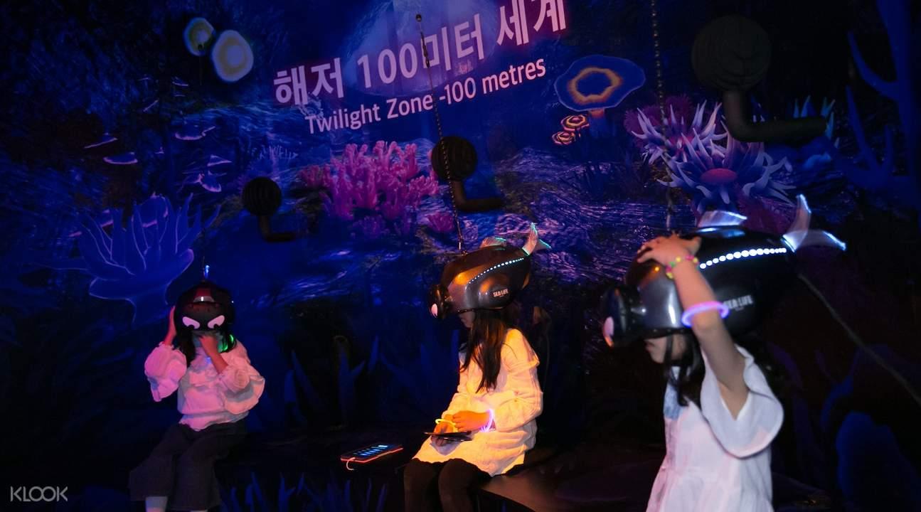 free vr promo sea life aquarium