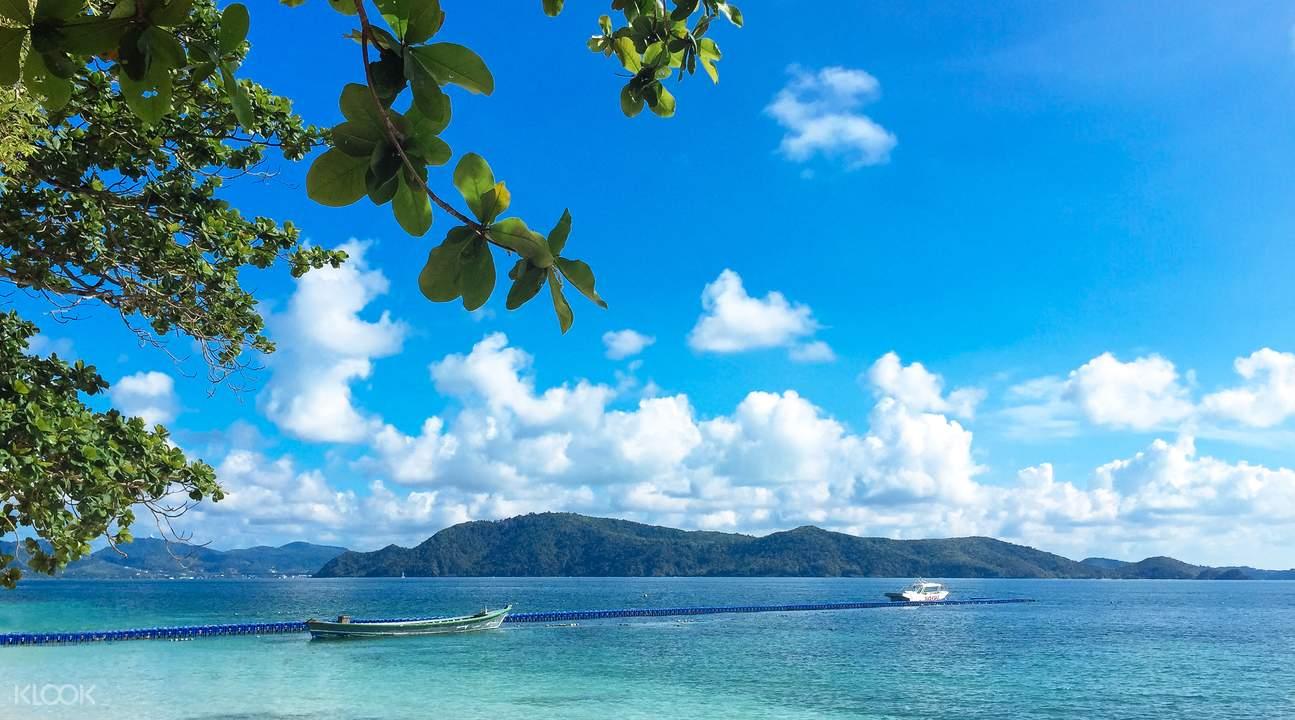 香蕉海滩快艇一日游