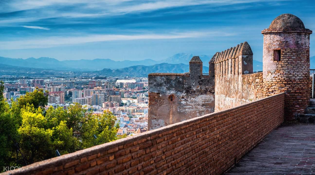 Gibralfaro Castle Malaga