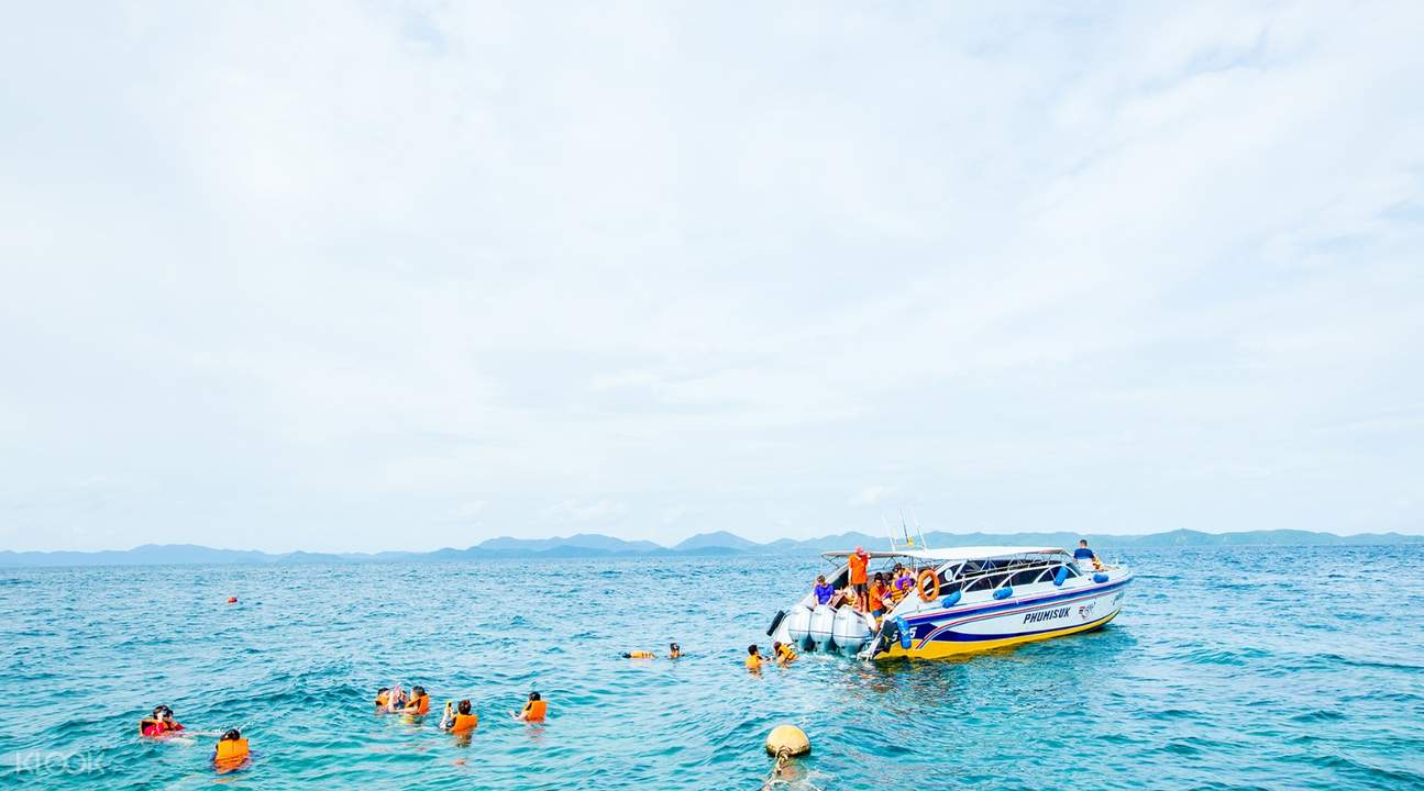 3 khai islands speedboat tour, khai islands boat tour, khai islands tour tickets